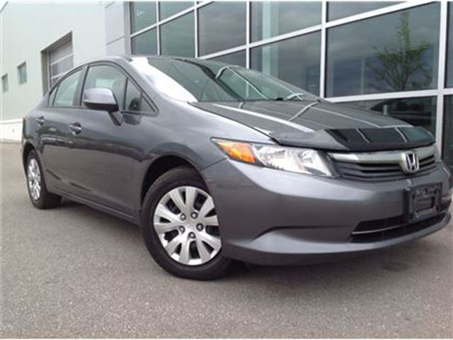 2012 HONDA CIVIC LX!!!JUST TRADED IN!!! in Mississauga, Ontario