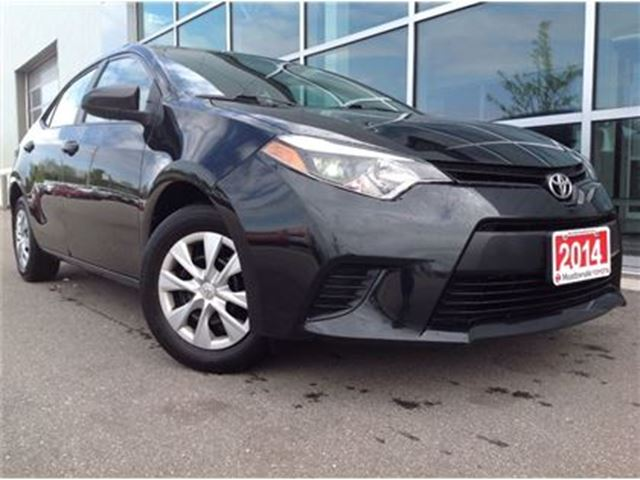 used 2014 toyota corolla ce just traded in mississauga. Black Bedroom Furniture Sets. Home Design Ideas