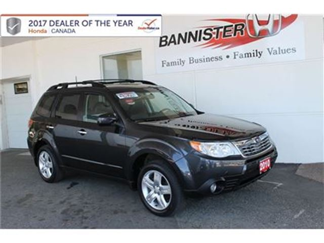 2010 SUBARU FORESTER X Limited in Vernon, British Columbia