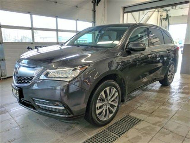 2015 ACURA MDX Navigation AWD - Tow Pkg - Leather - No Accidents! in Thunder Bay, Ontario
