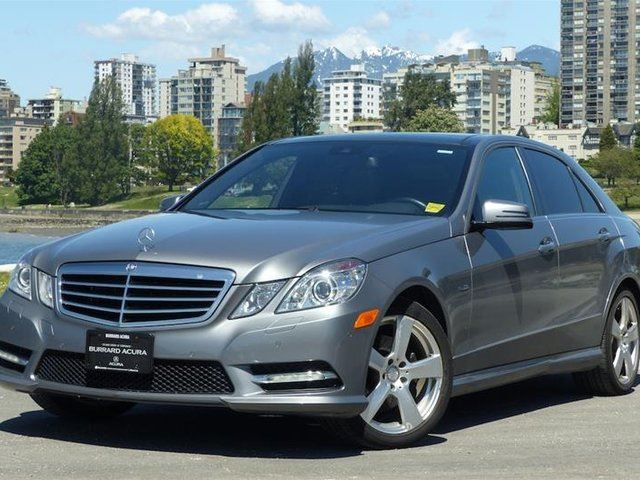 2012 Mercedes-Benz E-Class 4MATIC Sedan in Vancouver, British Columbia