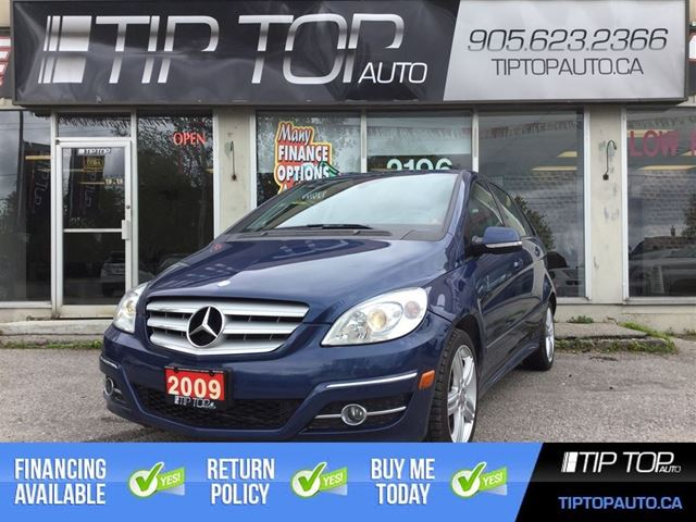 2009 Mercedes-Benz B-Class Turbo ** Panoramic Sunroof, Bluetooth, Low Kms  in Bowmanville, Ontario
