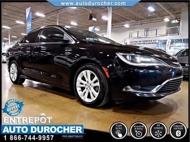 2015 Chrysler 200 LIMITED - AUTOMATIQUE - AIR CLIMATISn++ in Laval, Quebec