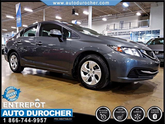 2013 Honda Civic LX - AUTOMATIQUE - AIR CLIMATISn++ in Laval, Quebec