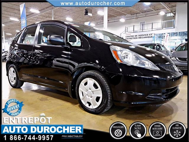 2014 Honda Fit DX - AUTOMATIQUE - AIR CLIMATISn++ in Laval, Quebec