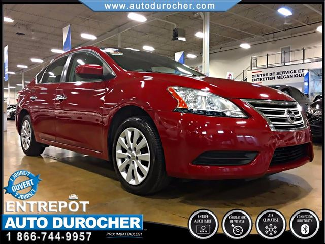 2013 Nissan Sentra 1.8 S - AUTOMATIQUE - AIR CLIMATISn++ in Laval, Quebec