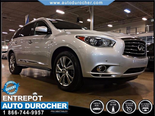 2013 INFINITI JX TOIT OUVRANT - CAMn++RA 360 - NAVIGATION in Laval, Quebec