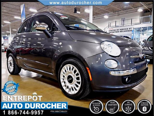 2014 Fiat 500 LOUNGE - AUTOMATIQUE - AIR CLIMATISn++ in Laval, Quebec