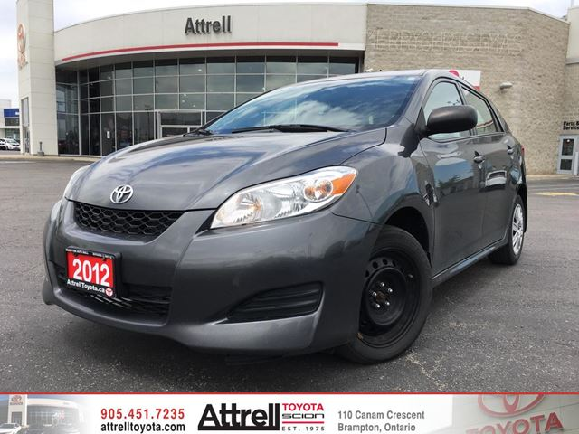 2012 Toyota Matrix           in Brampton, Ontario