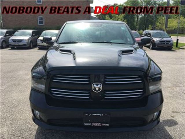 2015 Dodge RAM 1500 Sport**LOADED**FULL LEATHER** in Mississauga, Ontario