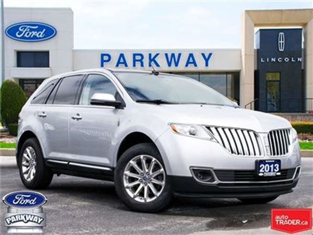 2013 LINCOLN MKX AWD  LEATHER  SUNROOF  GPS  HEATED/ COOLED SEATS in Waterloo, Ontario