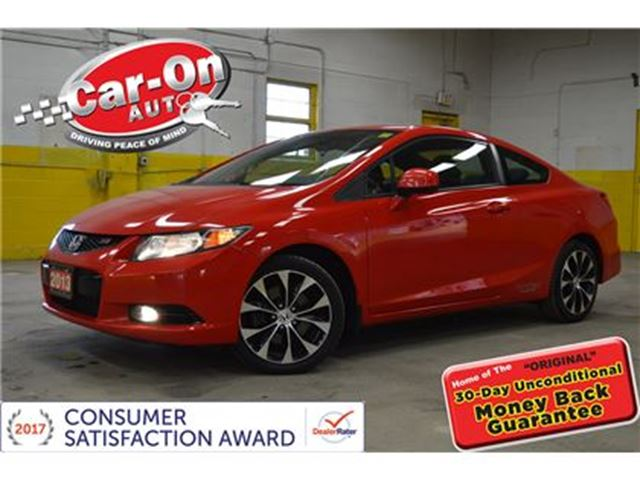 2013 Honda Civic Si SUNROOF NAV ALLOYS BACKUP CAMERA in Ottawa, Ontario