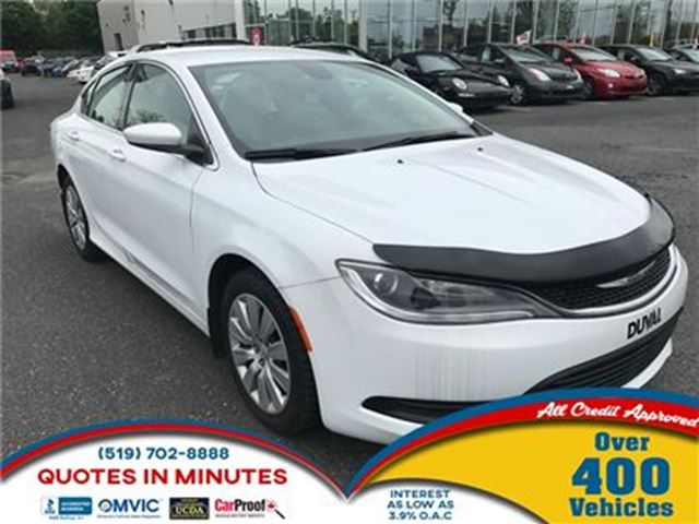 2016 CHRYSLER 200 LX   KEYLESS ENTRY   EXECUTIVE DESIGN in London, Ontario