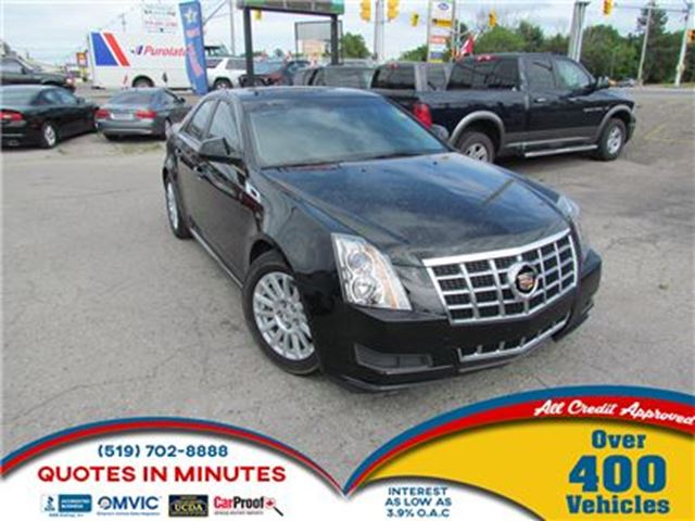 2013 CADILLAC CTS 3.0L   LUXURY PACKAGE   SUNROOF   LEATHER in London, Ontario