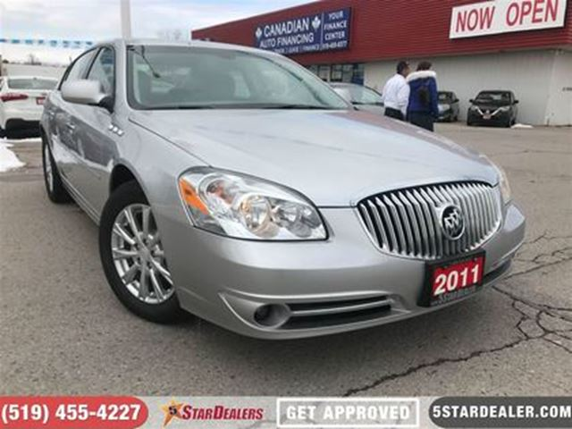 2011 BUICK LUCERNE CX   FRESH ON THE LOT   MUST SEE in London, Ontario
