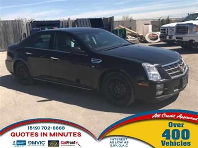 2010 CADILLAC STS AWD   LEATHER   V6   POWER AND LUXURY in London, Ontario
