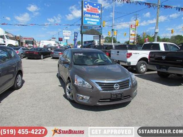 2013 NISSAN ALTIMA 2.5 SL   LEATHER   ROOF   NAV   BACKUP CAM in London, Ontario