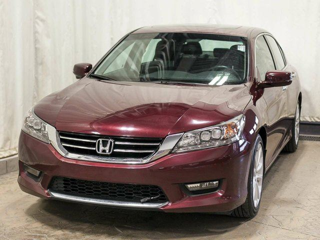 used 2014 honda accord touring v6 sedan w navigation leather extended warranty. Black Bedroom Furniture Sets. Home Design Ideas