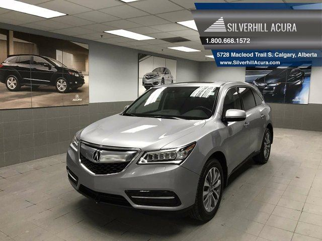2016 ACURA MDX Navigation Package 4dr SH-AWD in Calgary, Alberta