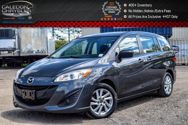 2014 Mazda MAZDA5 GS 6 Seater Dual Air Pwr windows Pwr Locks Keyless entry 16Alloy Rims in Bolton, Ontario