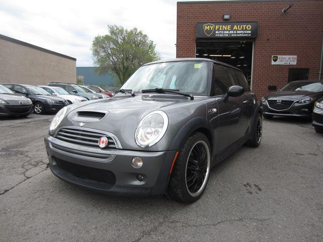 2004 MINI Cooper S / SUPERCHARGED / 6 SPD  in Ottawa, Ontario