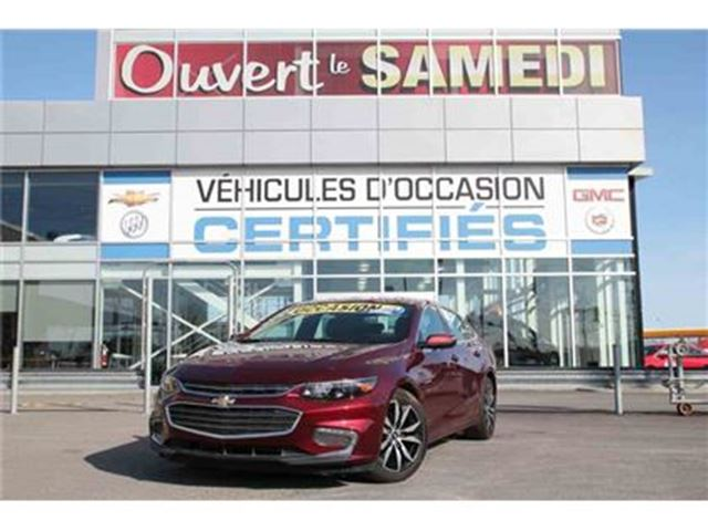 2016 Chevrolet Malibu TOIT OUVRANT+NAVIGATION +++ in Montreal, Quebec