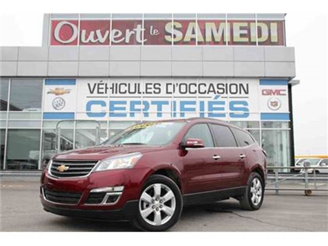 2016 Chevrolet Traverse (4x4) TOIT OUVRANT+GRP REMORQUAGE in Montreal, Quebec