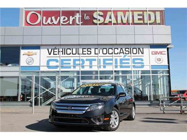 2011 Ford Fusion AWD (4X4)+CUIR+TOIT OUVRANT in Montreal, Quebec