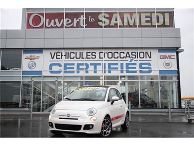 2012 FIAT 500 + TOIT OUVRANT+DEMARREUR A DISTANCE in Montreal, Quebec