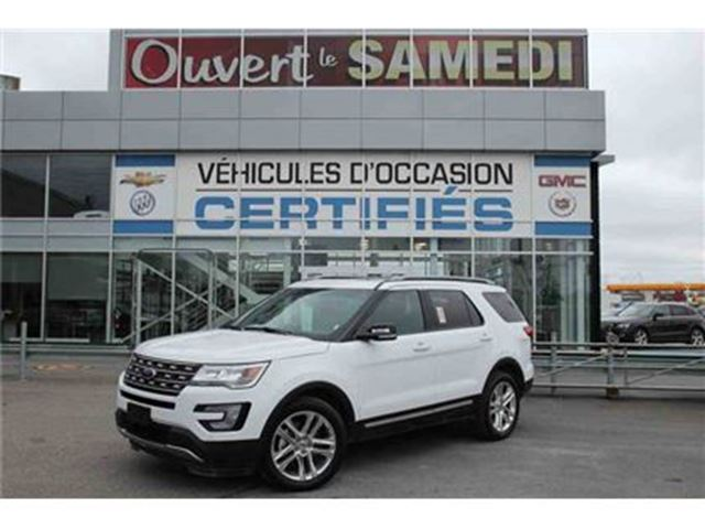 2016 Ford Explorer GROUPE REMORQUAGE+CUIR+TOIT PANO in Montreal, Quebec