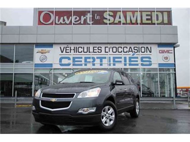 2009 Chevrolet Traverse 4X4 8 PASSAGERS in Montreal, Quebec