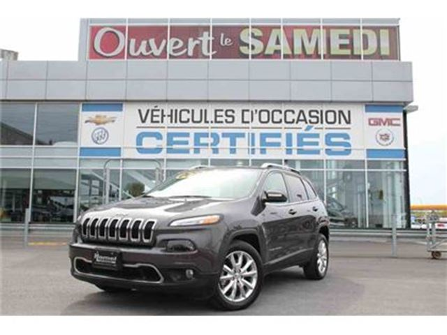 2016 JEEP Cherokee TOIT PANORAMIQUE+CUIR+NAVIGATION in Montreal, Quebec