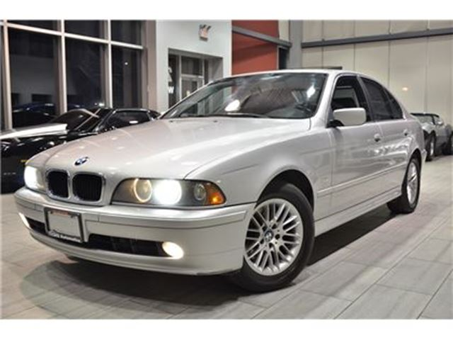 2003 BMW 5 Series 530 iA Last Year Production (E39) Premium Winter PKG! in Oakville, Ontario