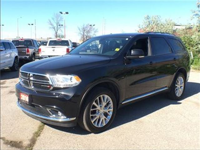 2016 Dodge Durango LIMITED**DUAL DVD**LEATHER**SUNROOF**BLUETOOTH** in Mississauga, Ontario