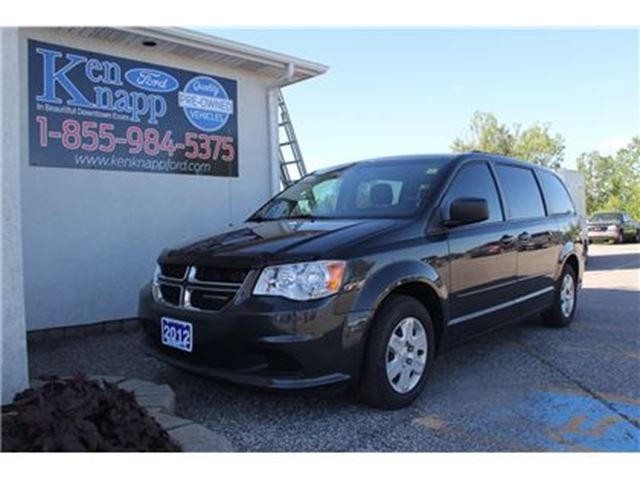 2012 Dodge Grand Caravan SE/SXT STOW AND GO BACKUP CAM in Essex, Ontario