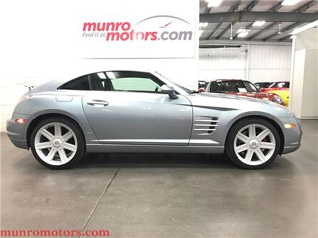 2004 Chrysler Crossfire Stick Shift Clean Carproof Canadian Low Kms in St George Brant, Ontario
