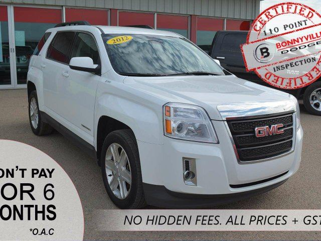 2012 GMC TERRAIN SLE, AWD, UNDER 63,000KMS, GOOD CONDITION in Bonnyville, Alberta