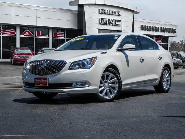 2014 BUICK LACROSSE Leather Package...** ONE Owner!!  Purchased, se in Virgil, Ontario