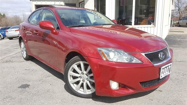 2007 LEXUS IS 250 Ulta Prem - Nav! Camera! in Kitchener, Ontario