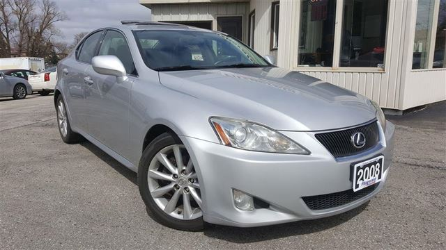 2008 LEXUS IS 250 Leather!sunroof! Certified & E-tested! in Kitchener, Ontario