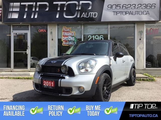 2011 MINI COOPER Countryman S ** AWD, Leather, Pano Sunroof, Manual ** in Bowmanville, Ontario