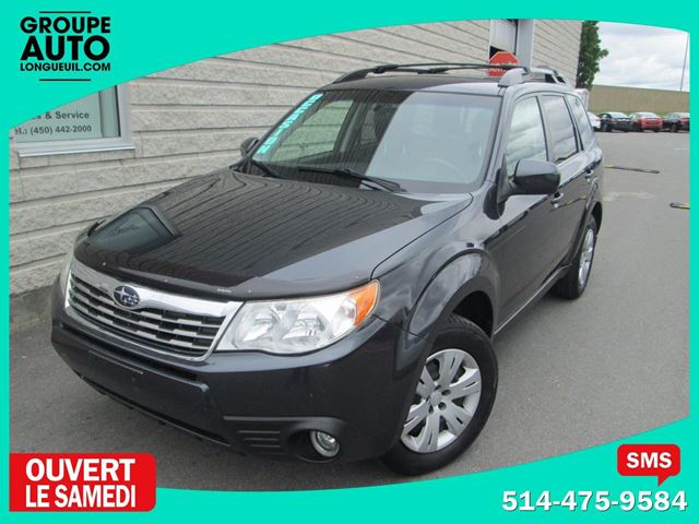 2010 Subaru Forester *AUTOM*A/C*AWD*4X4*PAS CHER in Longueuil, Quebec