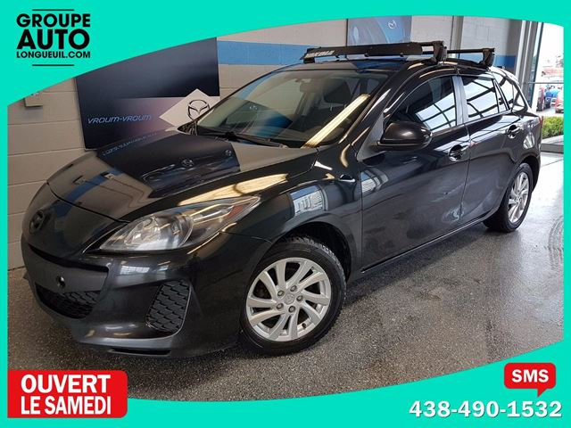 2012 Mazda MAZDA3 GX AUTO H-BACK in Longueuil, Quebec