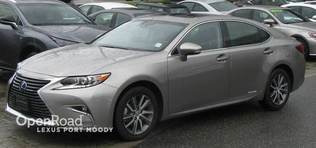 used 2017 lexus es 300h 4 cy executive navigation lexus safety system pl port moody. Black Bedroom Furniture Sets. Home Design Ideas