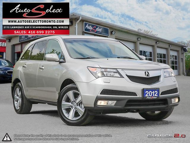2012 ACURA MDX AWD ONLY 91K! **CLEAN CARPROOF** BACK-UP CAMERA in Scarborough, Ontario