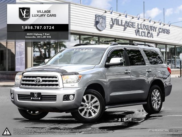 2008 Toyota Sequoia Limited 5.7L V8 NEW TIRES | CLEAN CARPROOF | POWER TAILGATE | AWD in Markham, Ontario