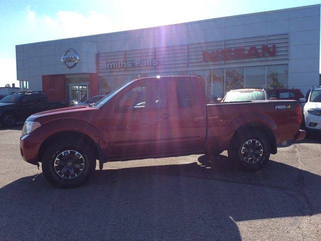 2015 NISSAN FRONTIER PRO-4X in Smiths Falls, Ontario