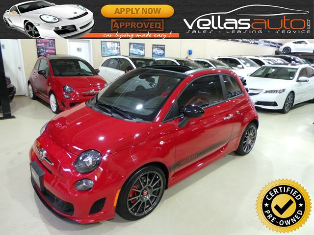 2015 FIAT 500 Abarth CABRIO| AUTO| PANO RF| LEATHER in Vaughan, Ontario