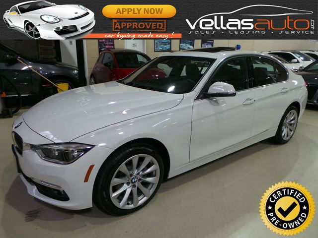 2017 BMW 330 i xDrive I XDRIVE| NAVIGATION| SUNROOF| LEATHER in Vaughan, Ontario