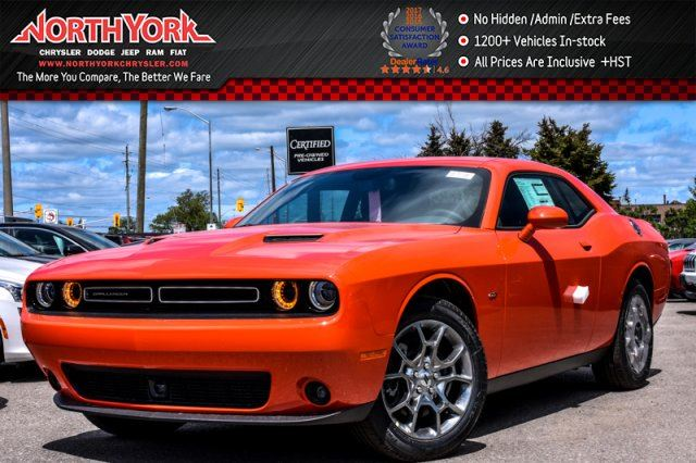 2017 Dodge Challenger New Car GT AWD Tech,Convnce,Sound,Pkgs Sunroof Leather 19Alloys  in Thornhill, Ontario